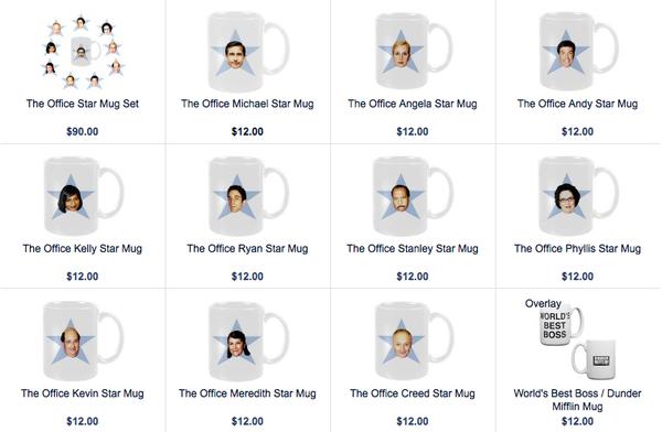 the office star mug. The Office Star Mug I