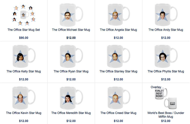 Office mugs Pam Picture Doragoram Mattmehaffey The Office Mugs Which One Are You